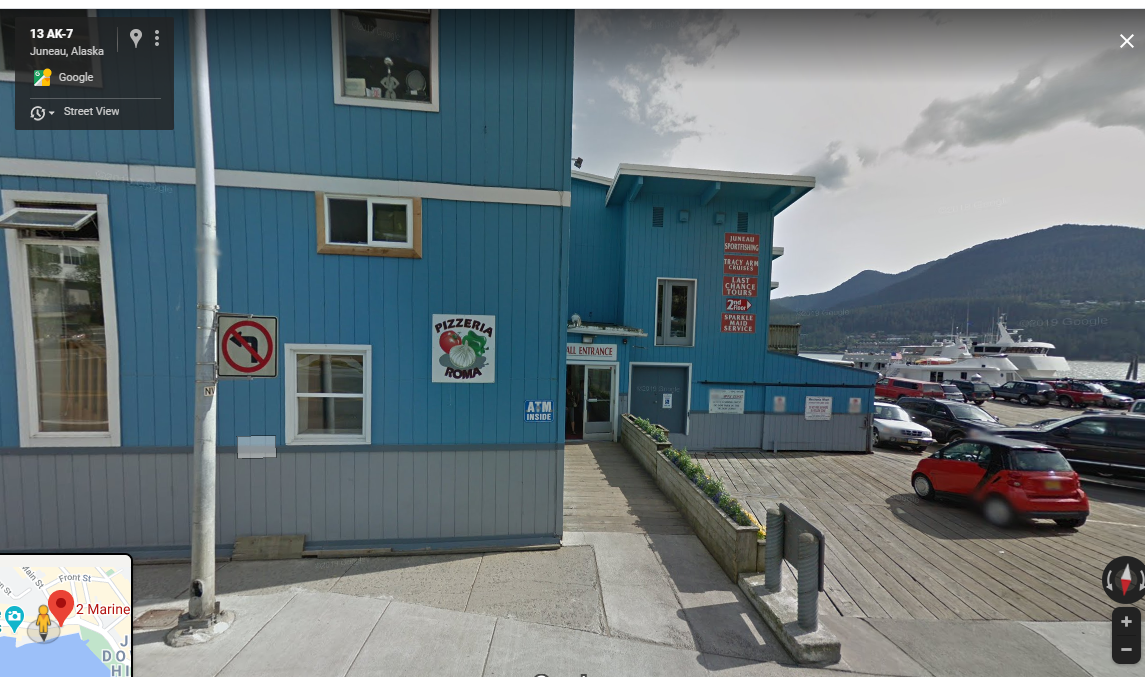 AKHire Inc is on the second floor of the Merchant's Wharf, the entrance to the building pictured here.